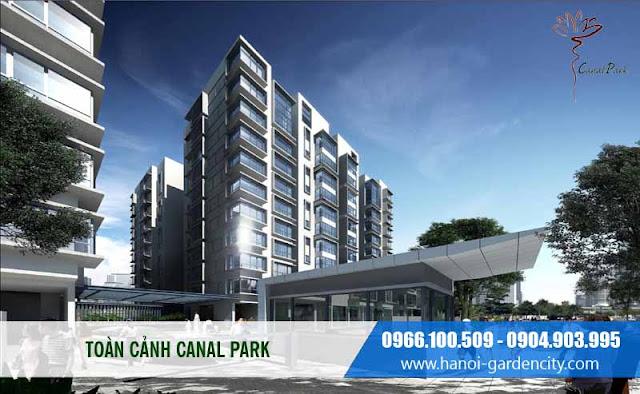 căn hộ canal Park, chung cư hà nội Garden city