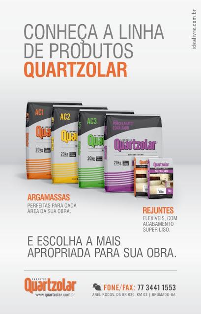 Conheça a Quartzolar Argamassa e Rejunte, empresa brumadense que mais vende produtos em grande parte do Brasil