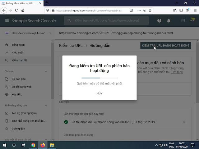 Cách sửa lỗi đường dẫn Breadcrumbs được cảnh báo trong Search Console cho blogspot