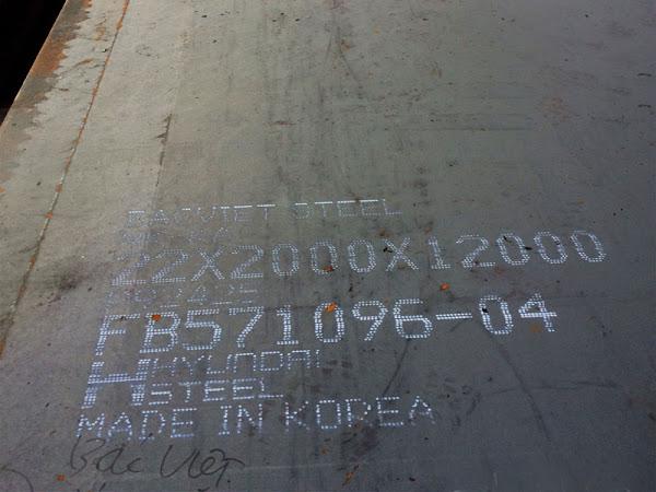 Thép tấm đóng tàu có đăng kiểm