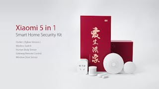 xiaomi smart home security kit