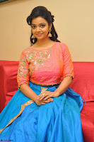 Nithya Shetty in Orange Choli at Kalamandir Foundation 7th anniversary Celebrations ~  Actress Galleries 089.JPG