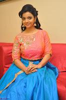 Nithya Shetty in Orange Choli at Kalamandir Foundation 7th anniversary Celebrations ~  Actress Galleries 089.JPG