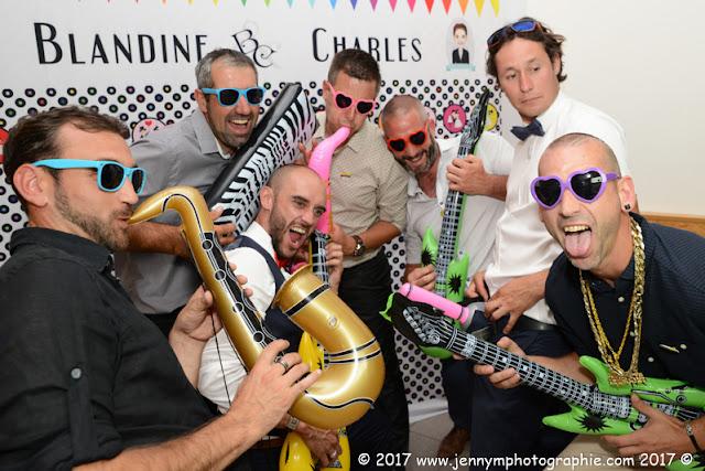 photos de groupes fun photobooth mariage