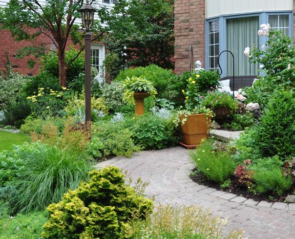 Front Garden Driveway Ideas Fine Woodworking Blueprint