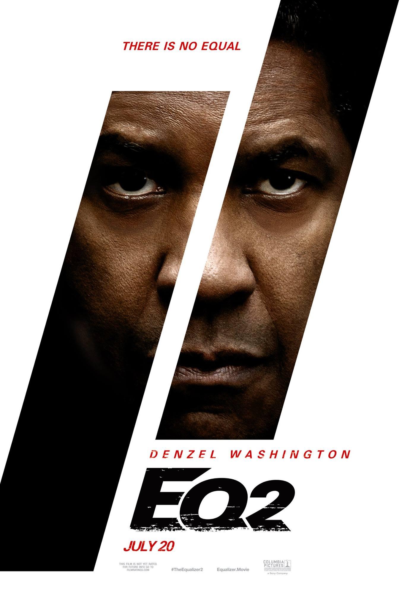 Teaser poster oficial de THE EQUALIZER 2