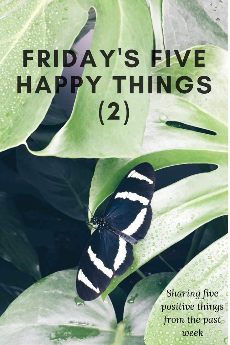 Friday's Five Happy Things (2) | kathleenhelen