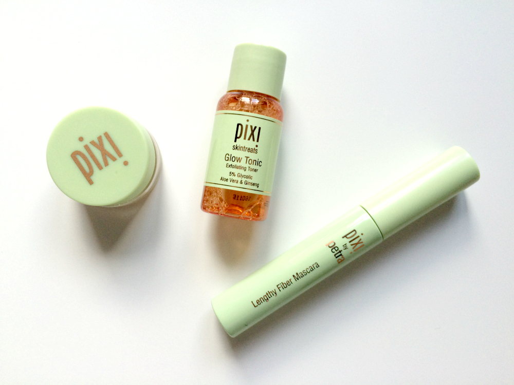 Pixi correction concentrate glow tonic lengthy fiber mascara