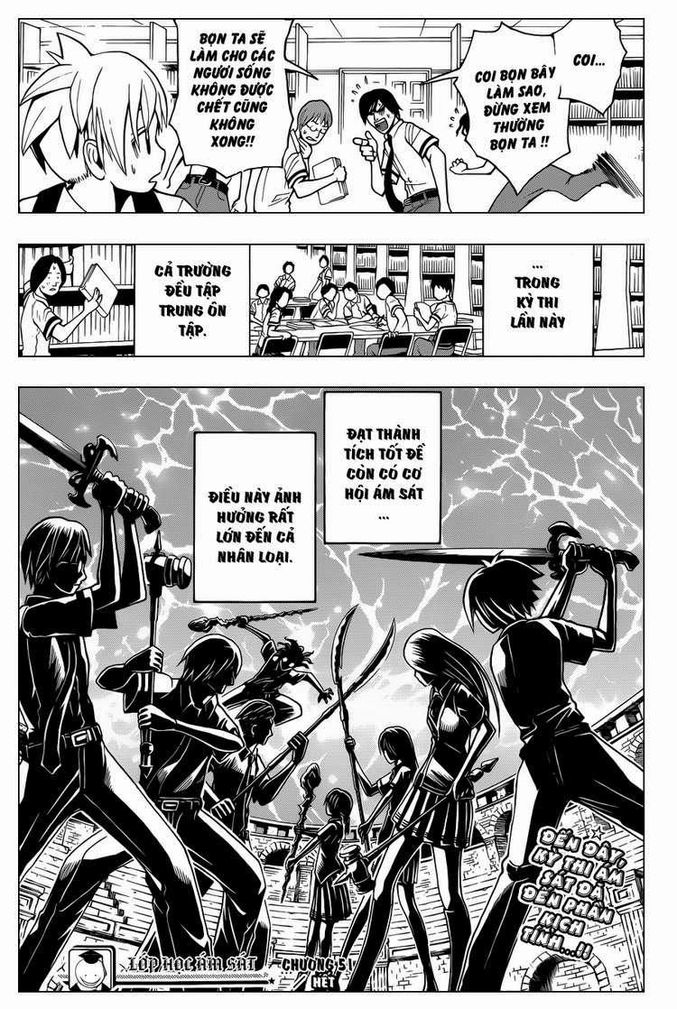 Ansatsu Kyoushitsu chap 51 trang 20