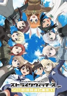 تقرير أنمي ساحرات الهجوم: الوحدة 501، تقوم بالخلع! Strike Witches: 501 Butai Hasshin Shimasu!