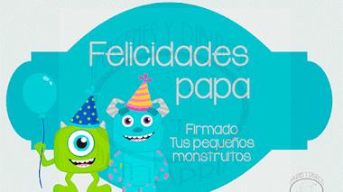 Felicitaciones del día del padre para imprimir