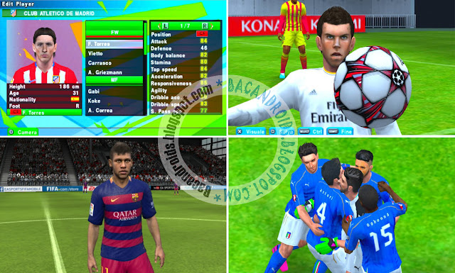 Savedata PES JPPV4 Edisi EURO For PPSSPP Emulator