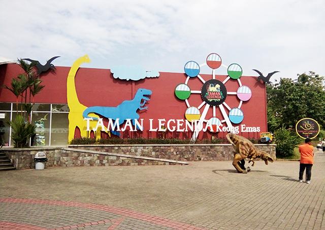 Taman Legenda TMII, Satu Lokasi Belasan Rekreasi