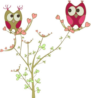 Fresh Owls Couple Free Party Printables