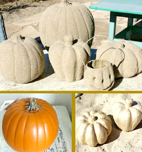 Beach Sand Pumpkins