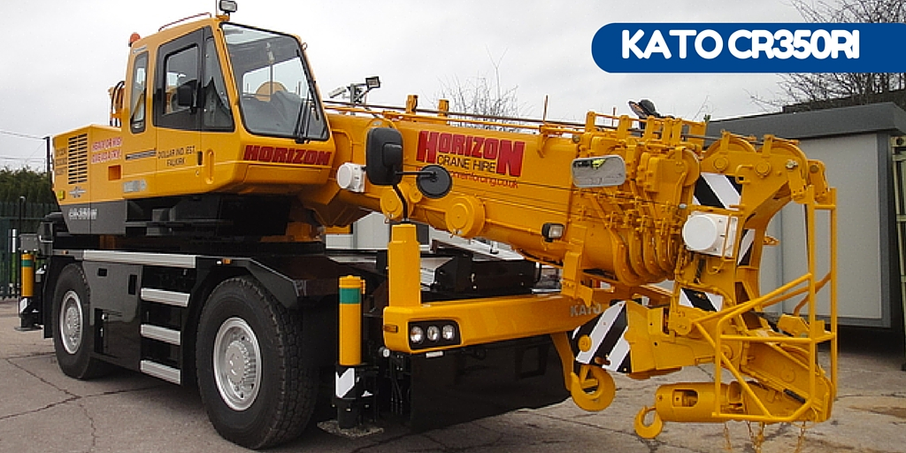 Horizon Reinforcing and Crane Hire's first Kato CR350-Ri in Scotland.