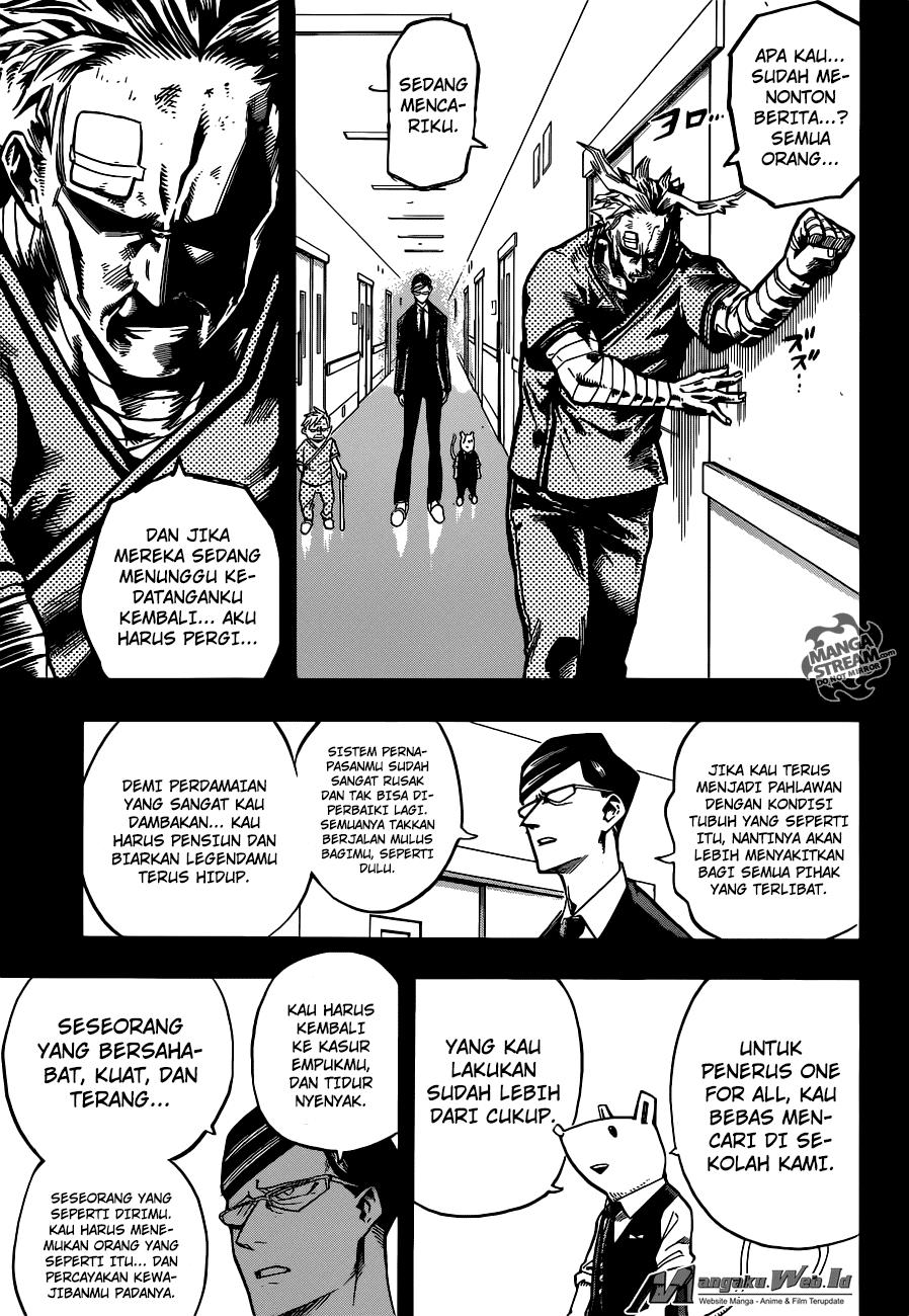 Boku no Hero Academia Chapter 130-16