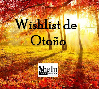 Wishlist de Otoño de SheIn