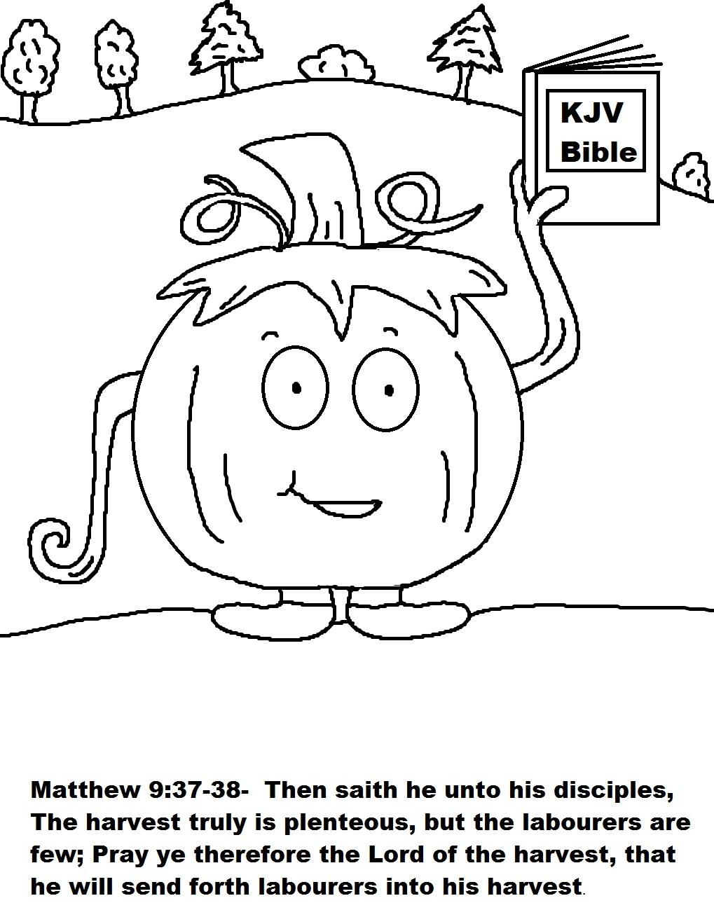 Church House Collection Blog: Pumpkin Candy Bag