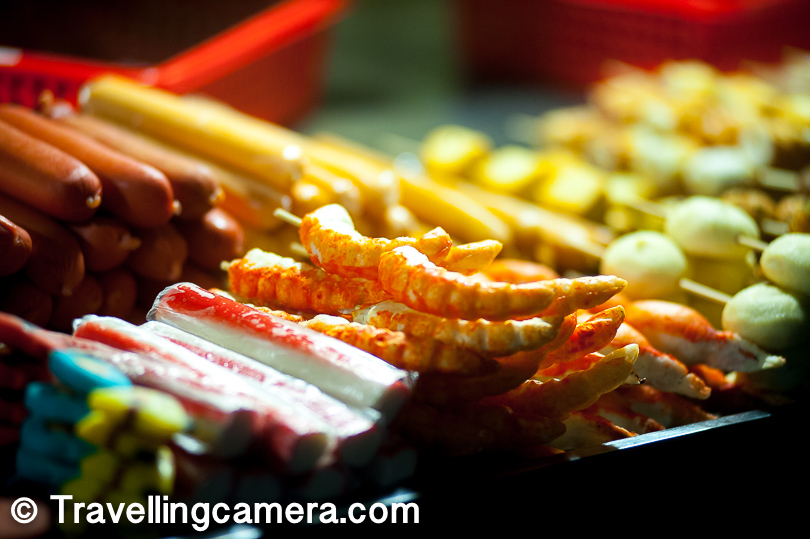10. People who eat Non-veg food can try some exotic stuff in the country.