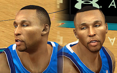 NBA 2K13 Shawn Marion Cyberface Mod