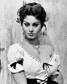 Sophia Loren, aged 19 in this picture, captivated audiences from the start of her career