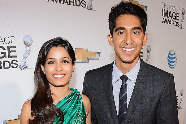 Freida Pinto and Dev Patel parted