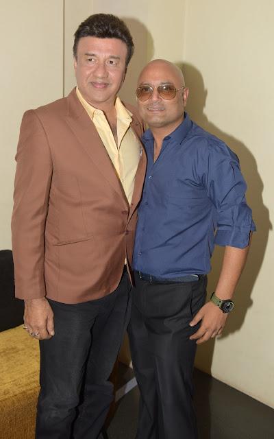 4. Anu Malik with Raja Ram Mukerji