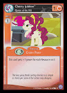 My Little Pony Cherry Jubilee, Queen of the Hill Premiere CCG Card