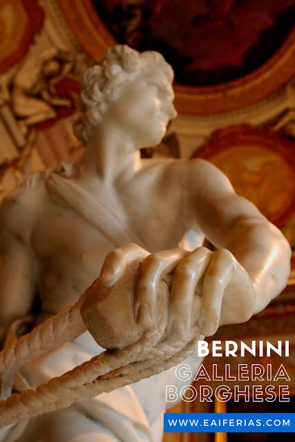 Galleria Borghese, Roma, Itália, Davi, Bernini
