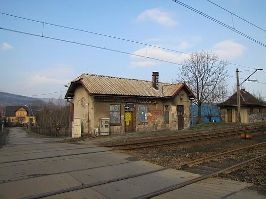"""Stacja kolejowa """"Bielsko-Biała Mikuszowice""""."""