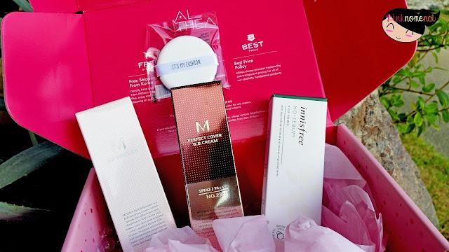 Unboxing Althea PH K-Beauty Box pinknomenal.com