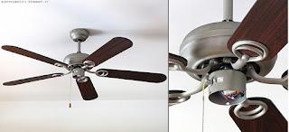 Klarstein Charleston lampadario ventilatore, montaggio