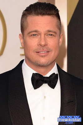 Brad Pitt, actor and producer US movies, was born on December 18, 1963.