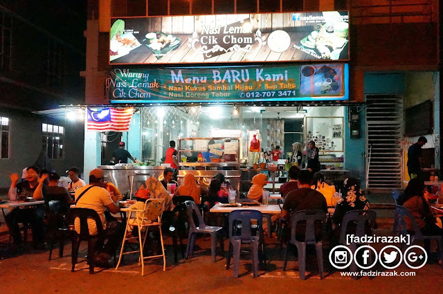 Warung Nasi Lemak Cik Chom Batu Bahat Johor