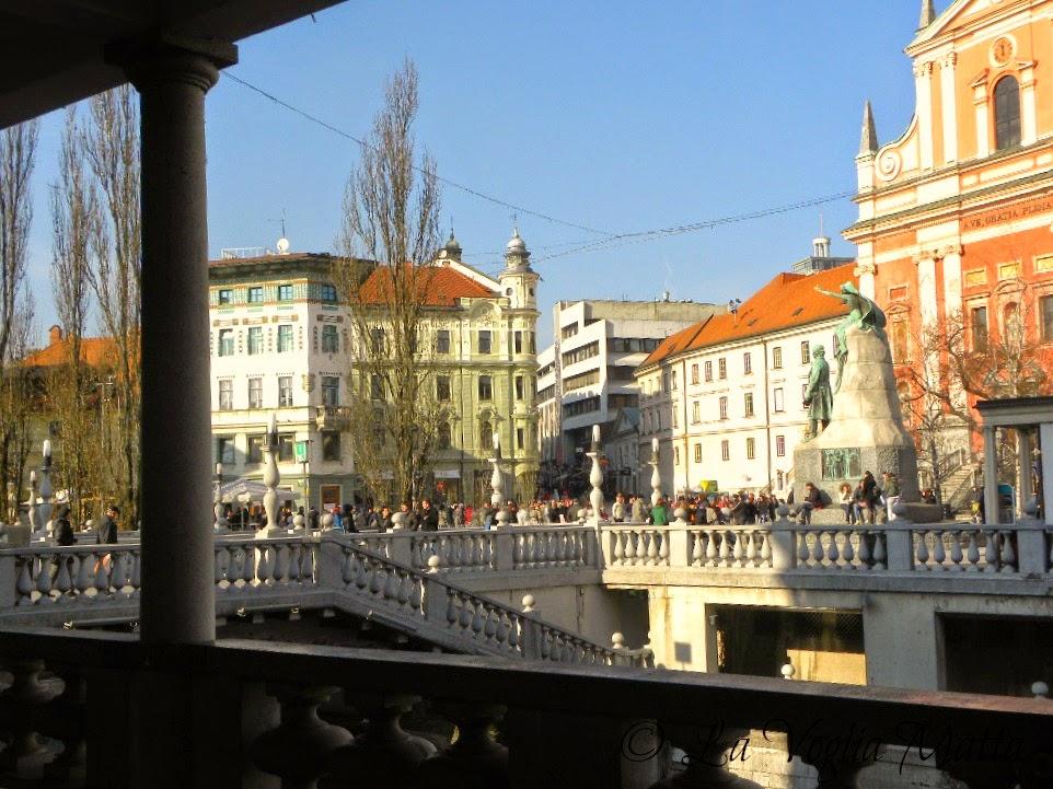 reportage Ljubljana centro storico