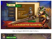 Download War of Angels MMORPG Online | APK MOD Terbaru