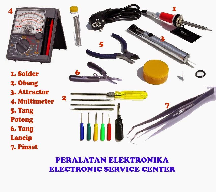Peralatan teknisi service elektronika