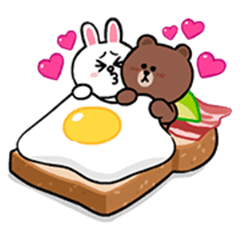 Cute and Mini Brown and Cony