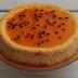 Tarta de Queso de Fruta de la Pasión Sin Azúcar y Baja en Hidratos