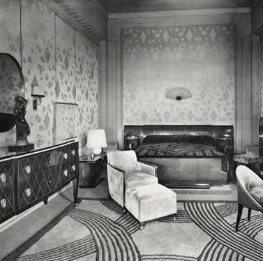 Christa pirl furniture interiors for Original art deco interiors