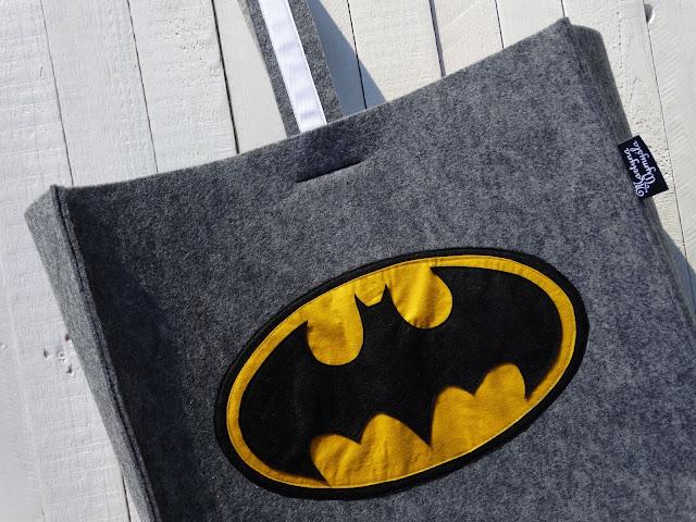 Worek na zabawki Batman