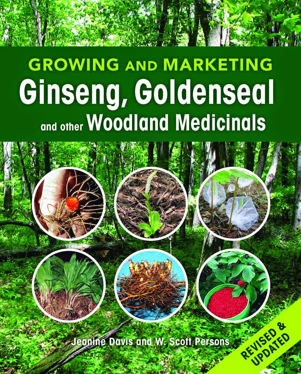 Our Tiny Farm in Western NC: Ginseng Fever Sale on THE Book on How