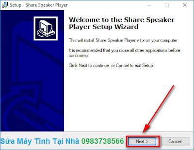 Hướng dẫn cài đặt Share Speaker Player