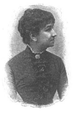 Grabado de Julia de Asensi publicado en su libro de cuentos Brisas de primavera (1897)