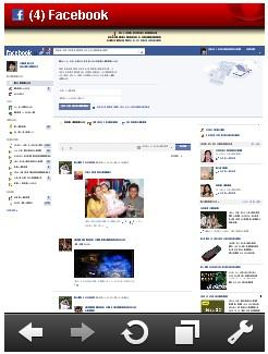 facebook full site on mobile