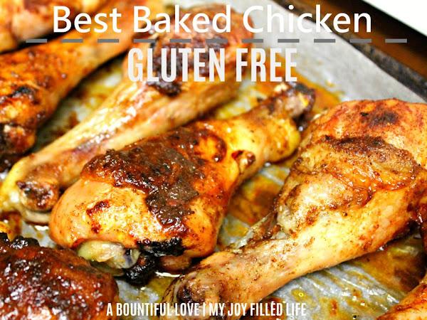 Best Gluten-Free Baked Chicken