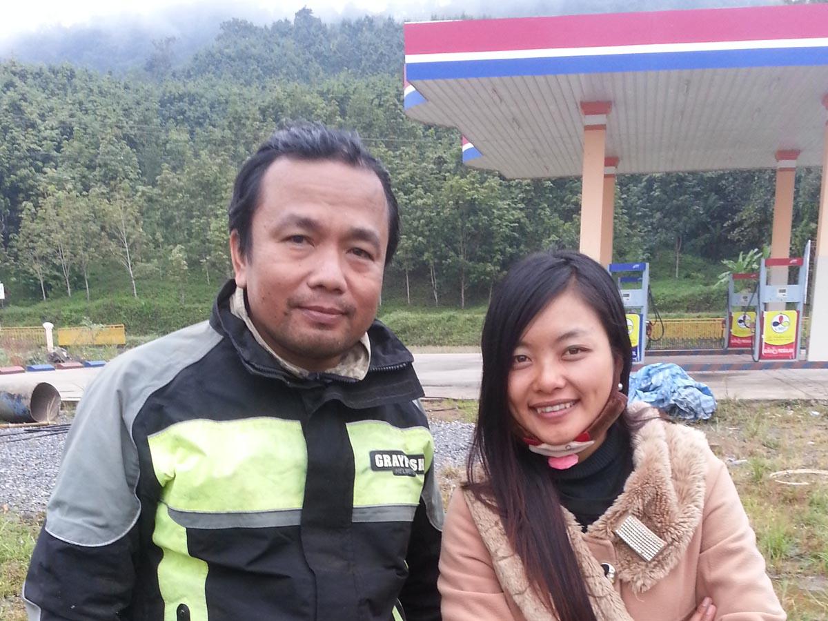 Laos lady
