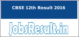 CBSE 12th Result 2016