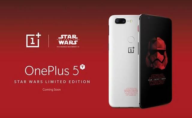 OnePlus 5T Edisi Star AWars hadir dan 37 pembeli pertama akan